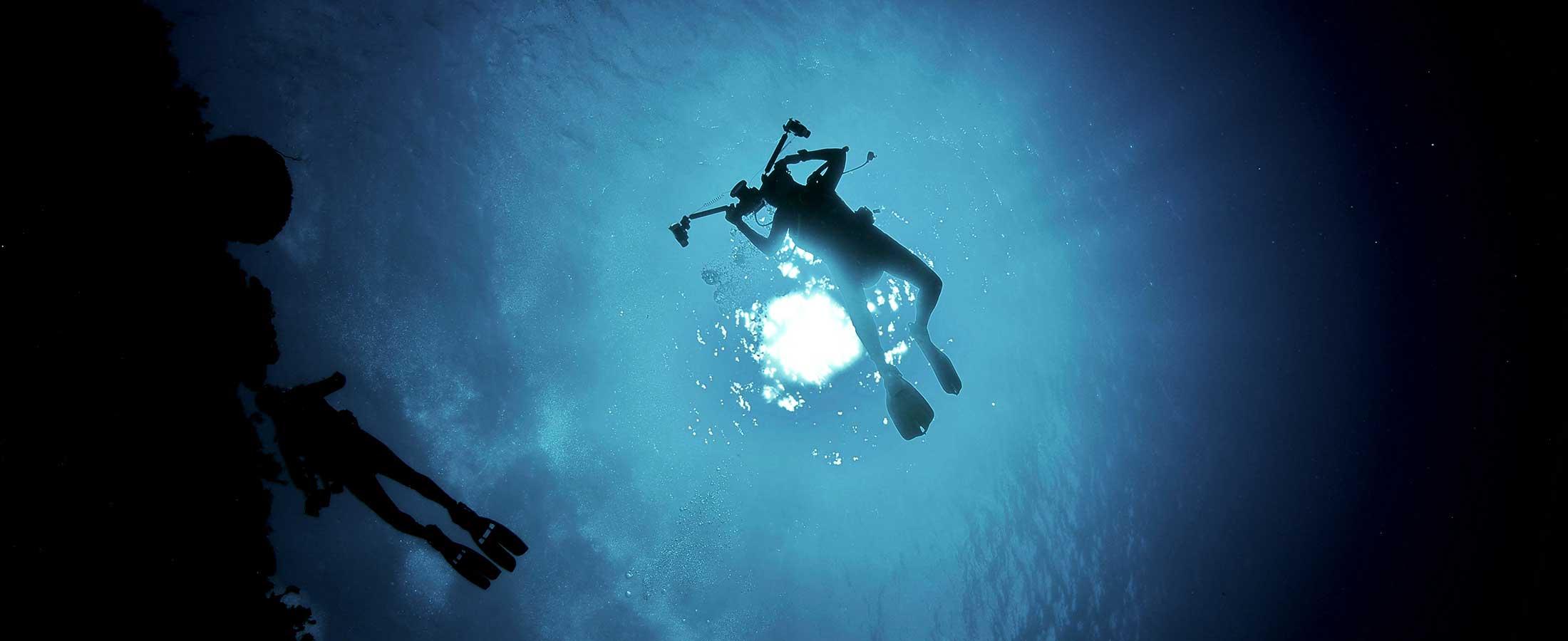 North Pole Cave dive site